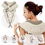 Вибрационно-ударный массажер для шеи и плеч, фото 2
