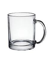Чашка стеклянная прозрачная под нанесение 330 мл
