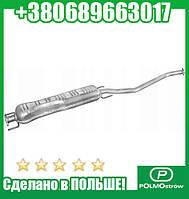 Глушитель центральный ОПЕЛЬ ВЕКТРА (пр-во Polmostrow) (арт. 17.281)