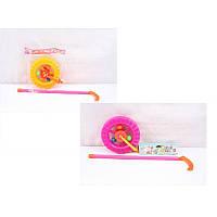Каталочка игрушка PF059/59С Колесо в пакете 14*14*3см