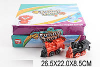 Заводной паровоз 88888888 (1275862) 2 вида,9 штук в дисп.боксе 26,5*22*8,5 см.