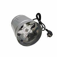 Вентилятор вытяжной канальный 150 мм осевой металлический VKAM 150