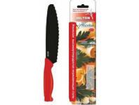 """Нож Hilton 7D Sandwich 7"""" черный+красный"""