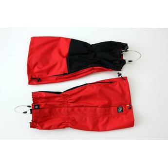 Гамаши туристические с тросиком Plai, красный, размер S