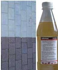 Лак для тротуарной плитки, бетона