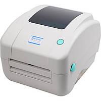 Термопринтер Xprinter XP-425B Принтер этикеток и чеков 108мм USB для новой почты