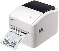 Термопринтер Xprinter XP-420B принтер этикеток, наклеек и чеков 108мм USB для Новой почты
