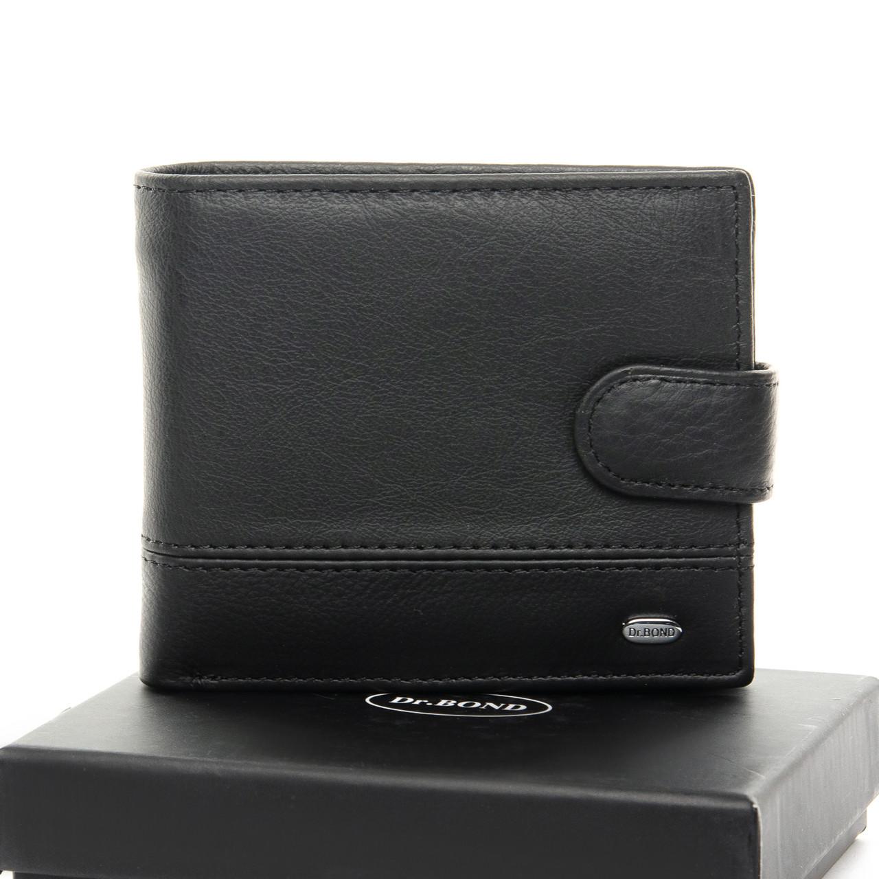 Кошелек Classic кожа DR. BOND M9-1 black