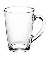 Чашка стеклянная ,прозрачная капучино 350мл