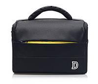 Фото сумка Nikon D противоударная, цвет черный с жёлтым