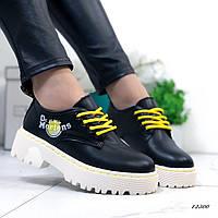 Женские туфли Dr.Mart черные