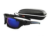 Солнцезащитные очки с поляризацией  Стекло Синее
