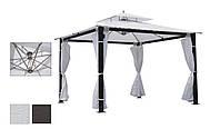 Садовый шатер-газебо с двойной крышей Ривьера