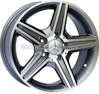 Литые диски Replica Mercedes-Benz CT1402 7,5x16 5x112 ET45 dia66,6 (GMF)