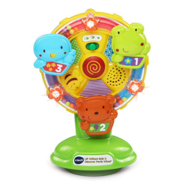 VTech Развивающее колесо обозрения на присоске Baby Lil' Critters Spin and Discover Ferris Wheel ЭКОУПАКОВКА