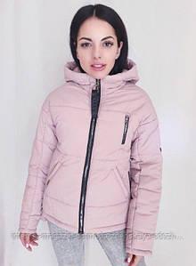 """Классная короткая демисезонная женская куртка """"Unique"""""""