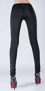 """Черные женские облегающие лосины больших размеров """"Incredible"""""""