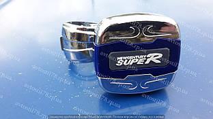 Ручка на руль с подшипником(лентяйка) Зил,Камаз King TS-501 Blue