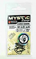 Карповый крючок VMC Mystic Carp 7025+ Curve Shank  10 штук