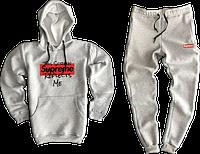 Трикотажный костюм Supreme (Суприм) серый