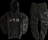 Трикотажный костюм Fila (Фила) черный