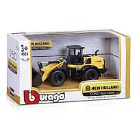 Авто-конструктор Bburago New Holland Экскаватор W170D 18-32083 ТМ: Bburago