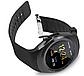 Smart Watch Y1S Black Розумні годинник для спорту і відпочинку, чорні + подарунок, фото 10