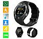 Smart Watch Y1S Black Розумні годинник для спорту і відпочинку, чорні + подарунок, фото 9