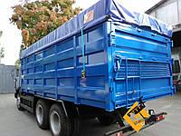 Тентовая накидка из ткани ПВХ  на кузов длиной до 6,0 м шириной до 2,55 м с комплектом для установки