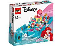 Lego Disney Princesses - Книга сказочных приключений Ариель (Ariel's Storybook Adventure, 105 дет), 5+ (43176)