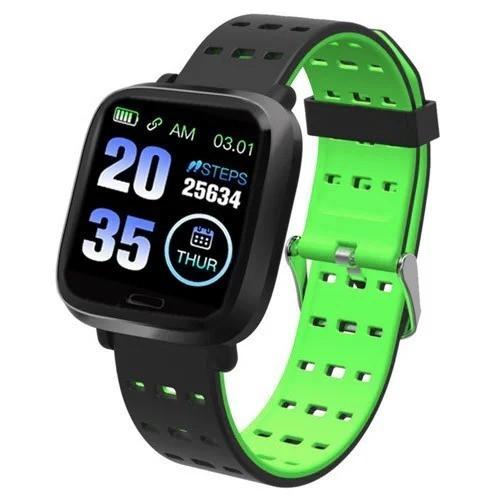 Фитнес-браслет A6, зеленый