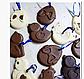 Пасхальная форма для выпечки и десертов шоколада силикон ципленок 9*7 см, фото 5