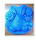 Пасхальная форма для выпечки и десертов шоколада силикон ципленок 9*7 см, фото 7