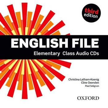English File third edition Elementary Class Audio CDs(5)