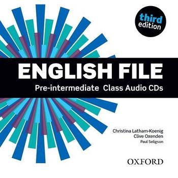 English File third edition Pre-Intermediate Class Audio CDs(5)