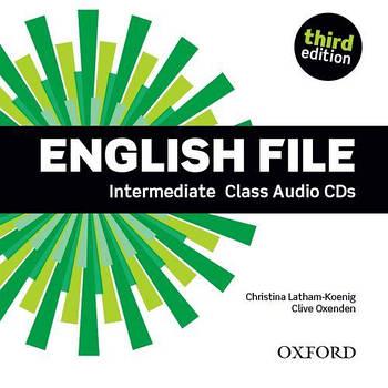 English File third edition Intermediate Class Audio CDs(5)