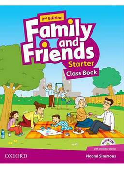 Family & Friends Starter Class Book & Audio CD 2nd Edition