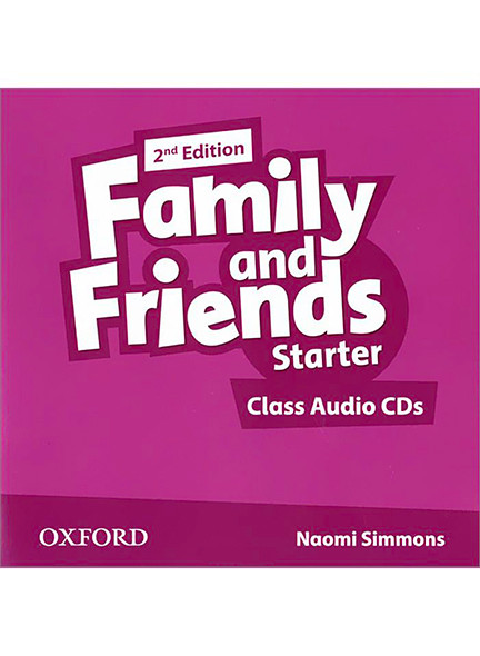 Family & Friends starter Class Audio CDs (2) (2nd Edition)