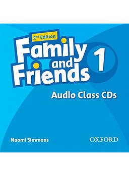 Family & Friends 1 Class Audio CDs (2nd Edition)