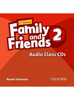Family & Friends 2 Class Audio CDs (3) (2nd Edition)