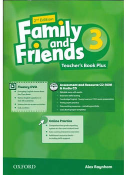 Family & Friends 3  Teacher's Book (2nd Edition)