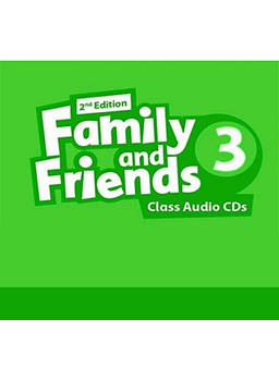 Family & Friends 3 Class Audio CDs (3) (2nd Edition)
