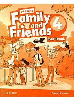 Family & Friends 4 Workbook (2nd Edition)
