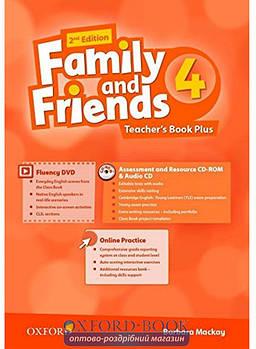 Family & Friends 4  Teacher's Book (2nd Edition)
