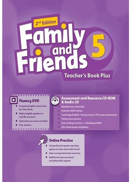 Family & Friends 5  Teacher's Book (2nd Edition)