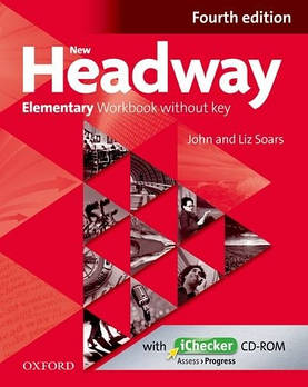 New Headway 4th edition Elementary Workbook without key & iChecker CD-ROM