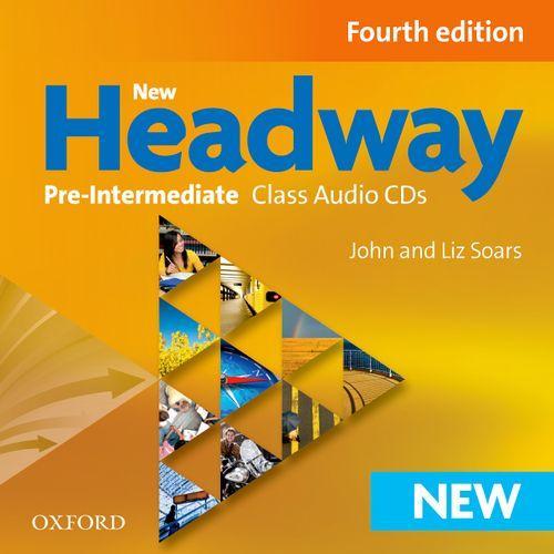 New Headway 4th edition Pre-Intermediate Class Audio CDs(3)
