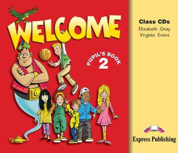Welcome 2: Class Audio CDs