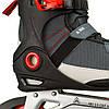 Чоловічі роликові ковзани Firefly ILS300M 43 Black/Grey/Red, фото 3