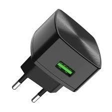 Сетевое зарядное устройство HOCO C70A 1USB 3A Black